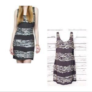 YOANA BARASCHI gray sequin sleeveless dress NWT